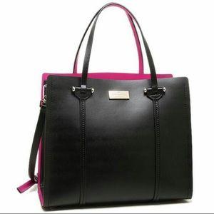 Kate Spade Arbour Hill Elodie Bag. Pink interior!